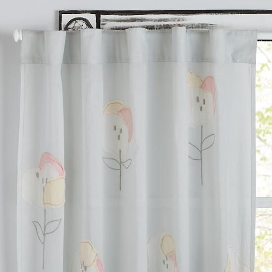 Hop On Poppies Curtains | The Land Of Nod