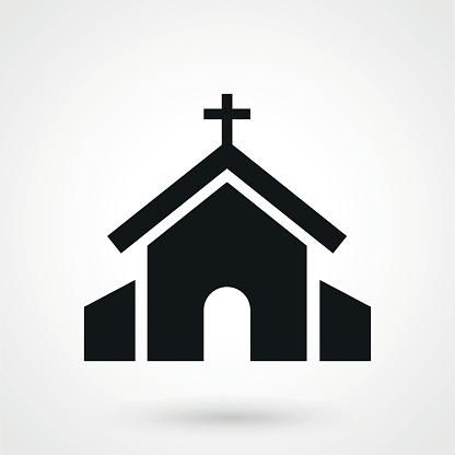 Vector Church Icon Church Icon Free Vector Art Vector