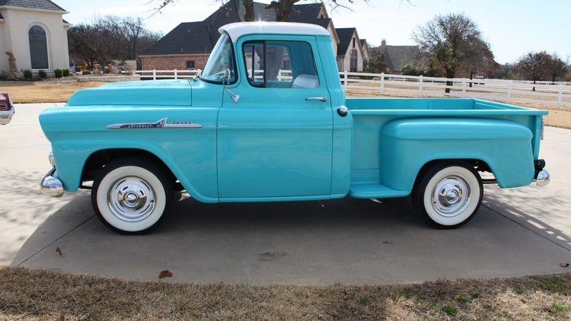 1958 Chevrolet Apache Pickup 2 Chevrolet Apache Chevy Apache Classic Chevy Trucks