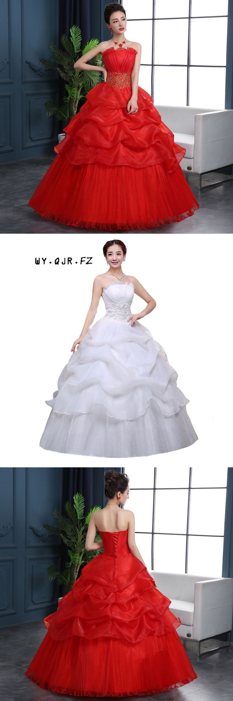 Ych spring autumn wedding party dress new bride wedding dress
