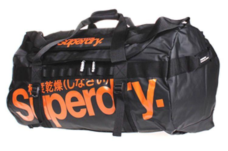 Gunuine SUPERDRY Large Tarpaulin Holdall Kitbag Luggage Gym Travel Bag