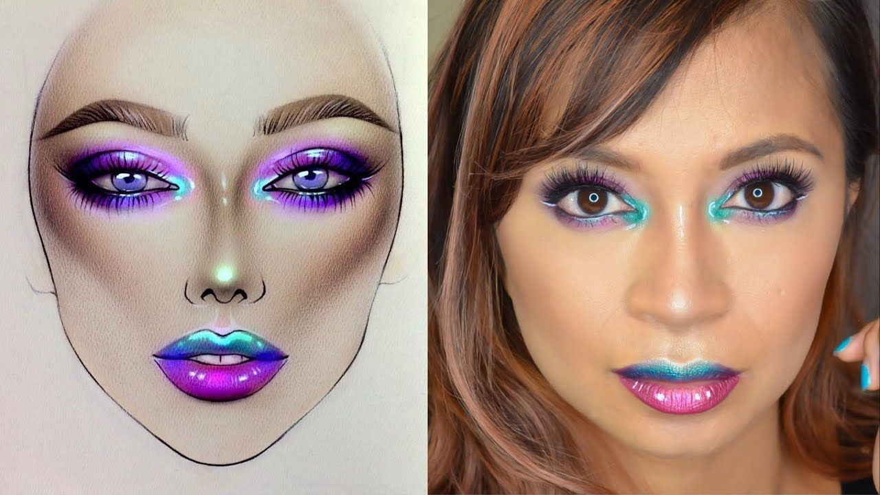 Recreation Milk1422 Facechart Unicorn Vibes
