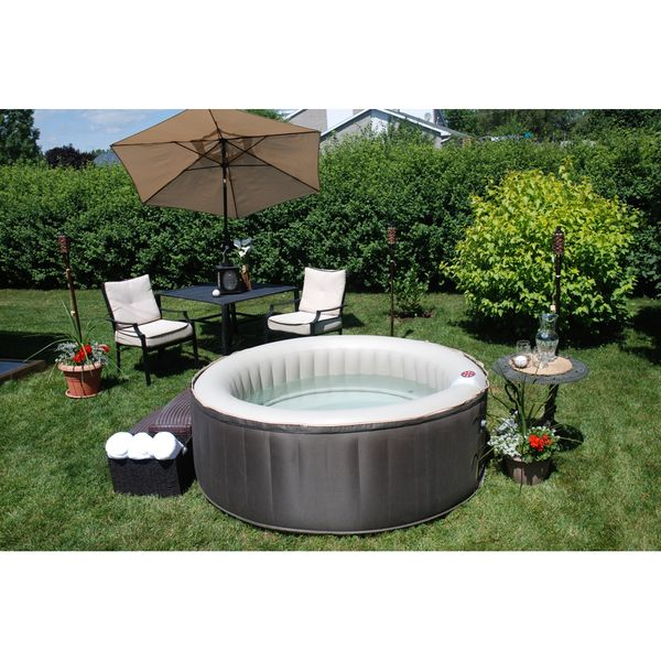 Lovely TheraSpa Inflatable Portable Hot Tub Spa   Overstock™ Shopping   The Best  Prices On Therma Spa Hot Tubs U0026 Spas