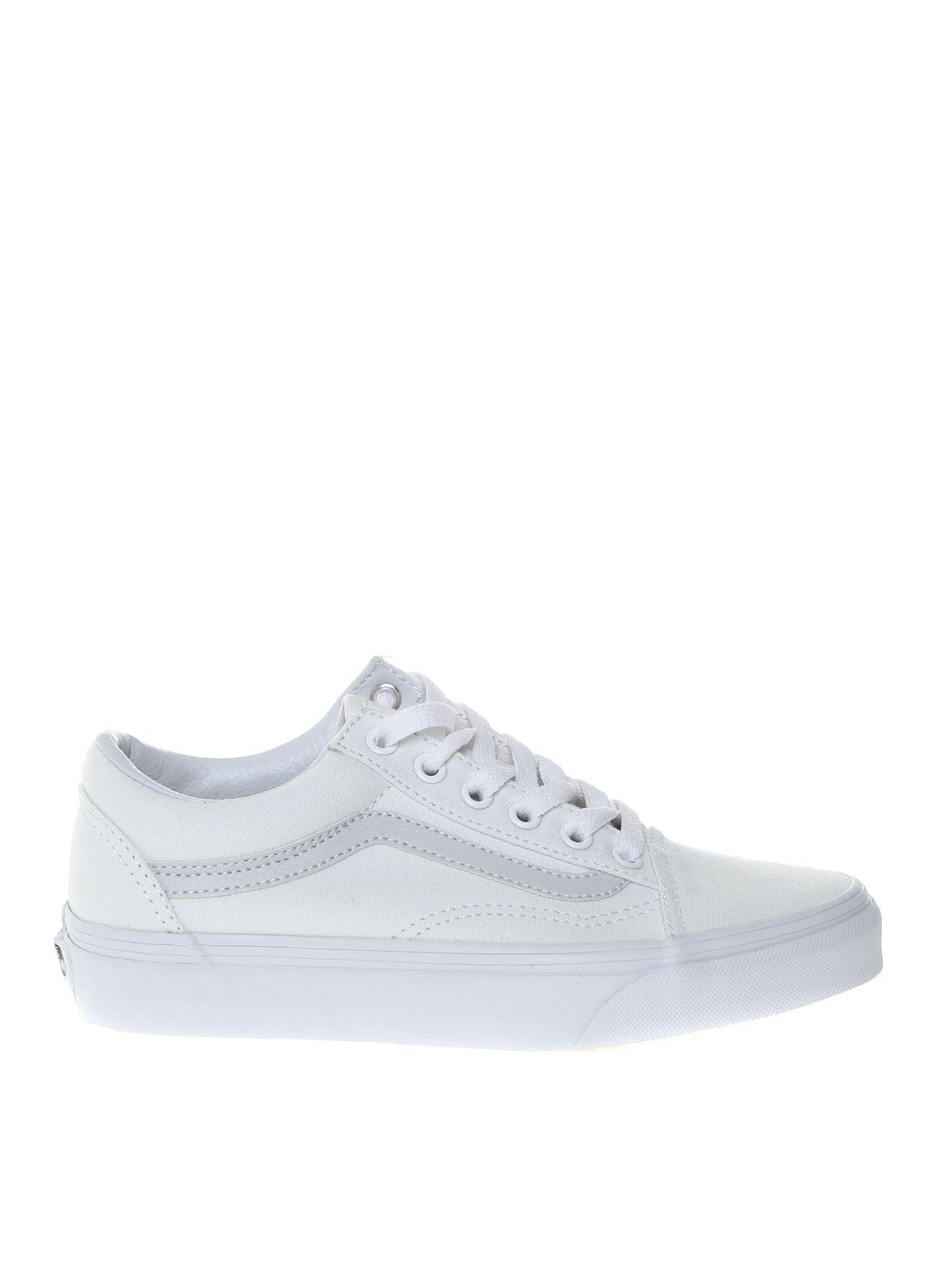 28a78a6f0f Vans - Vans Kadın Kanvas Beyaz Günlük Ayakkabı