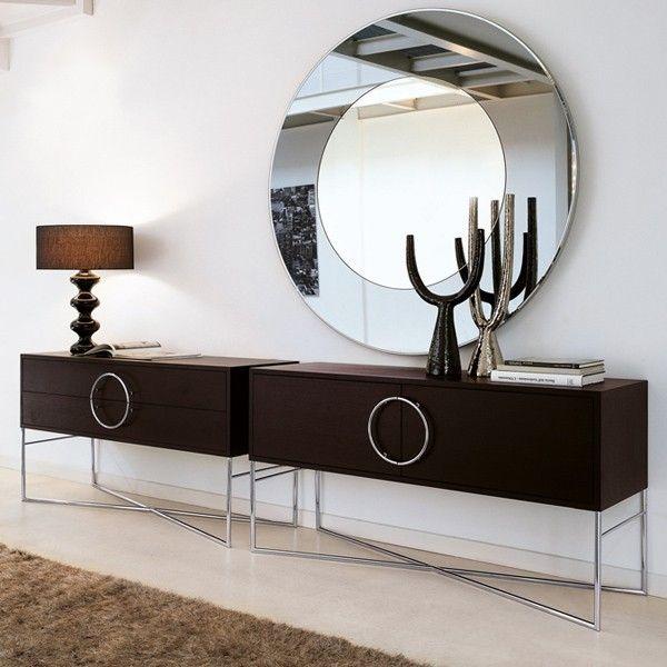 Espejos biselados lima vidrios espejos decorativos for Espejos circulares decorativos