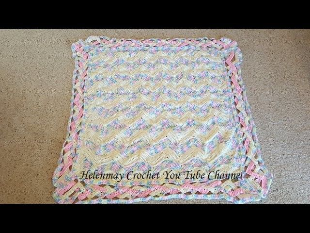 Crochet Heirloom Rainbow Chevron Baby Blanket Diy Tutorial Chevron
