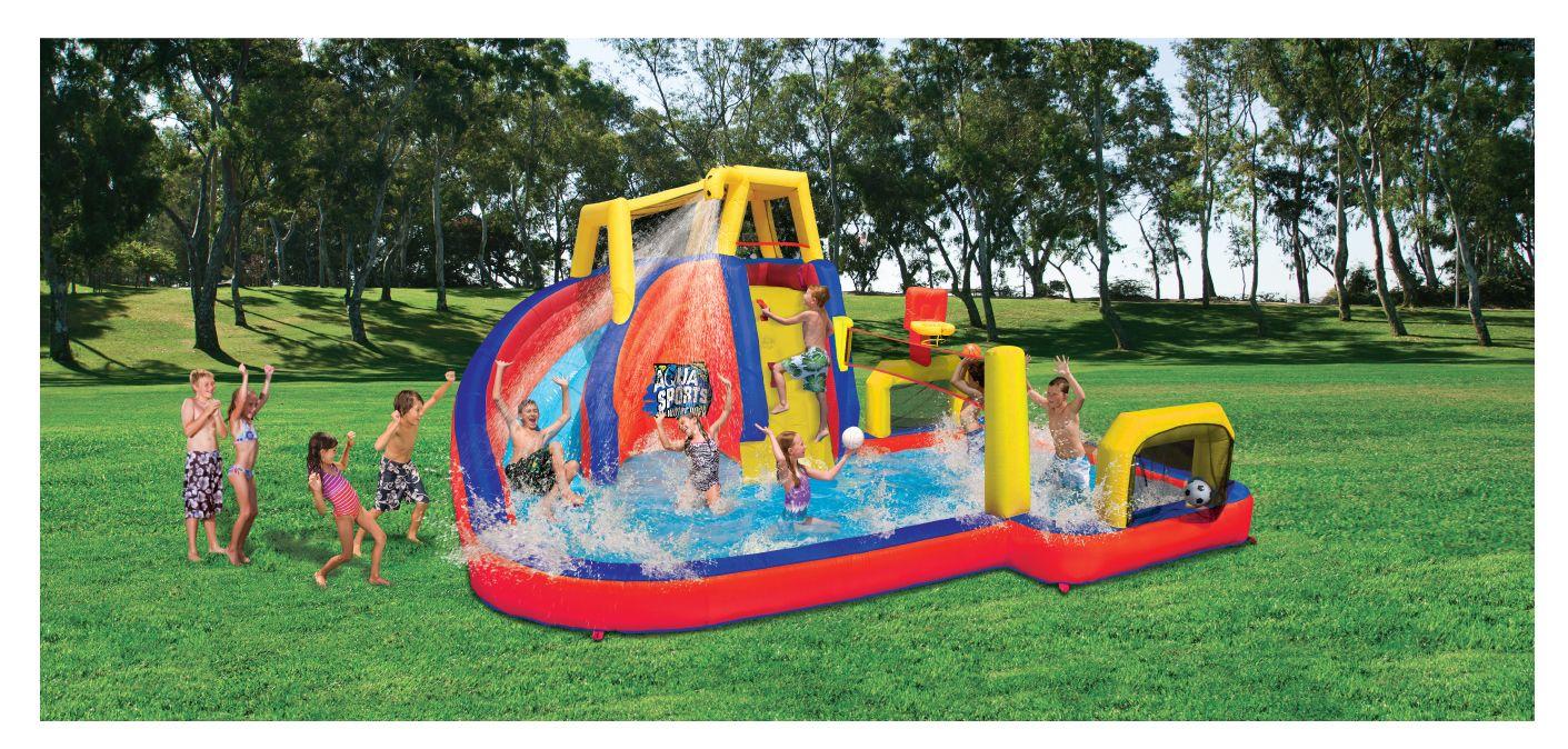 BANZAI AquaSports Water Park | Inflatable water park ...