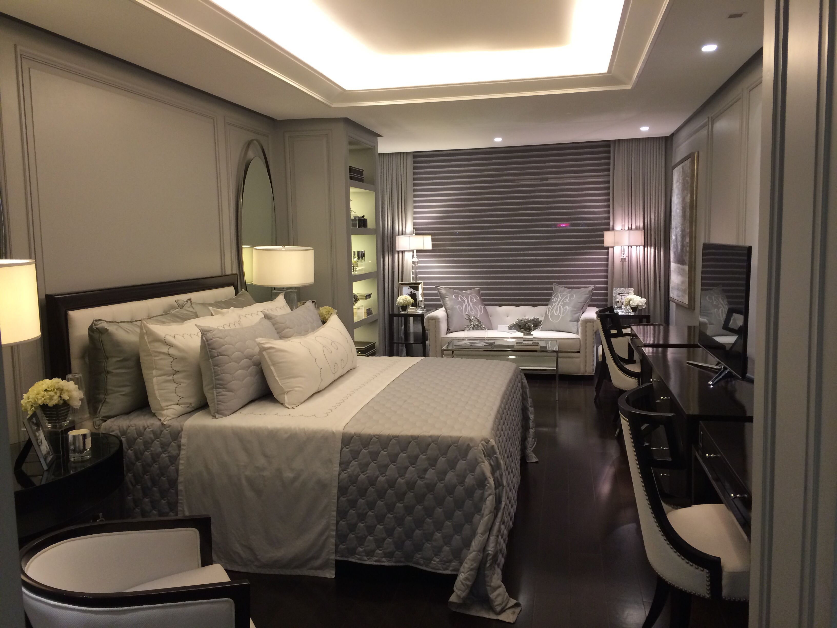 From the model unit in Arya, nice master bedroom interior ... on Model Bedroom Interior Design  id=15315