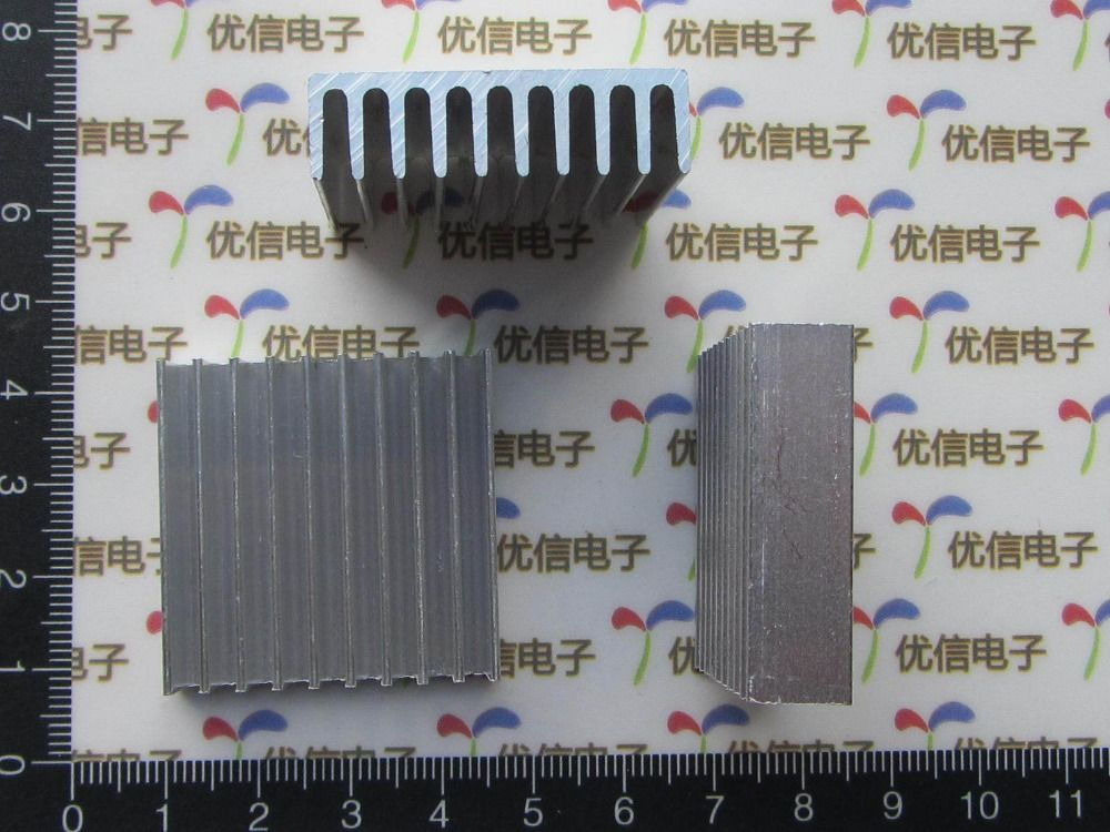 Aluminum heat Free Shipping brand new 10PCS Heatsink 35*35