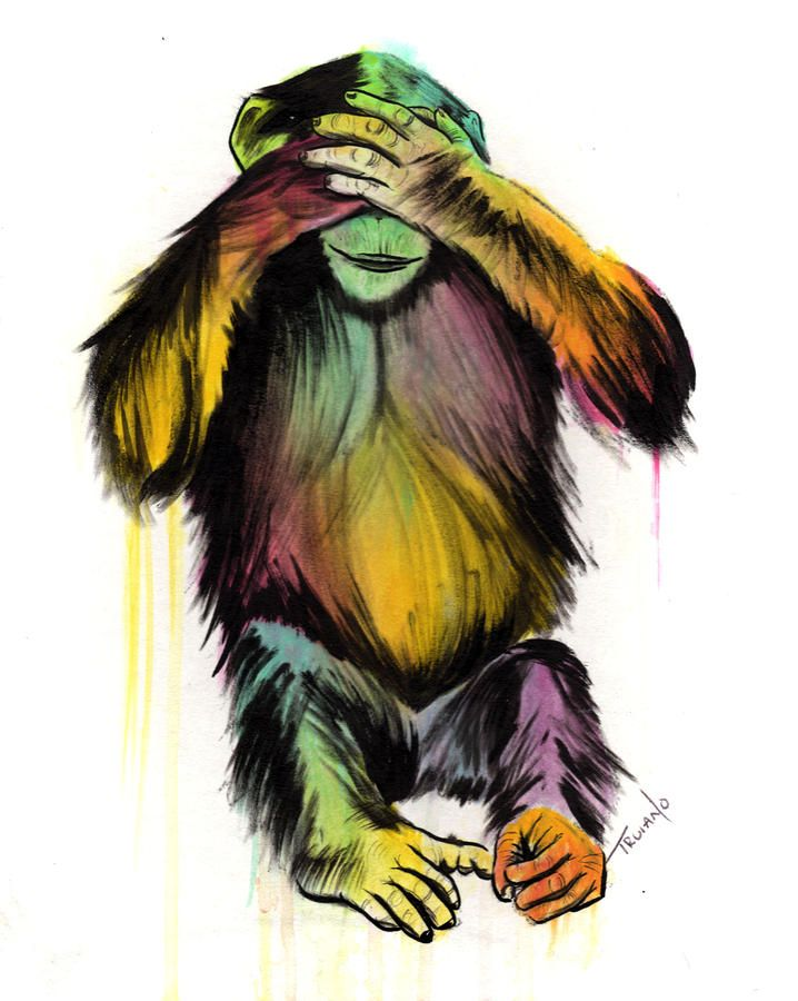 See No Evil Painting by Matt Truiano - See No Evil Fine Art Prints and Posters for Sale
