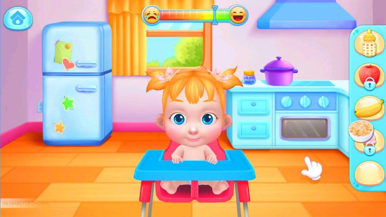 Baby boss care dress up best android baby care game