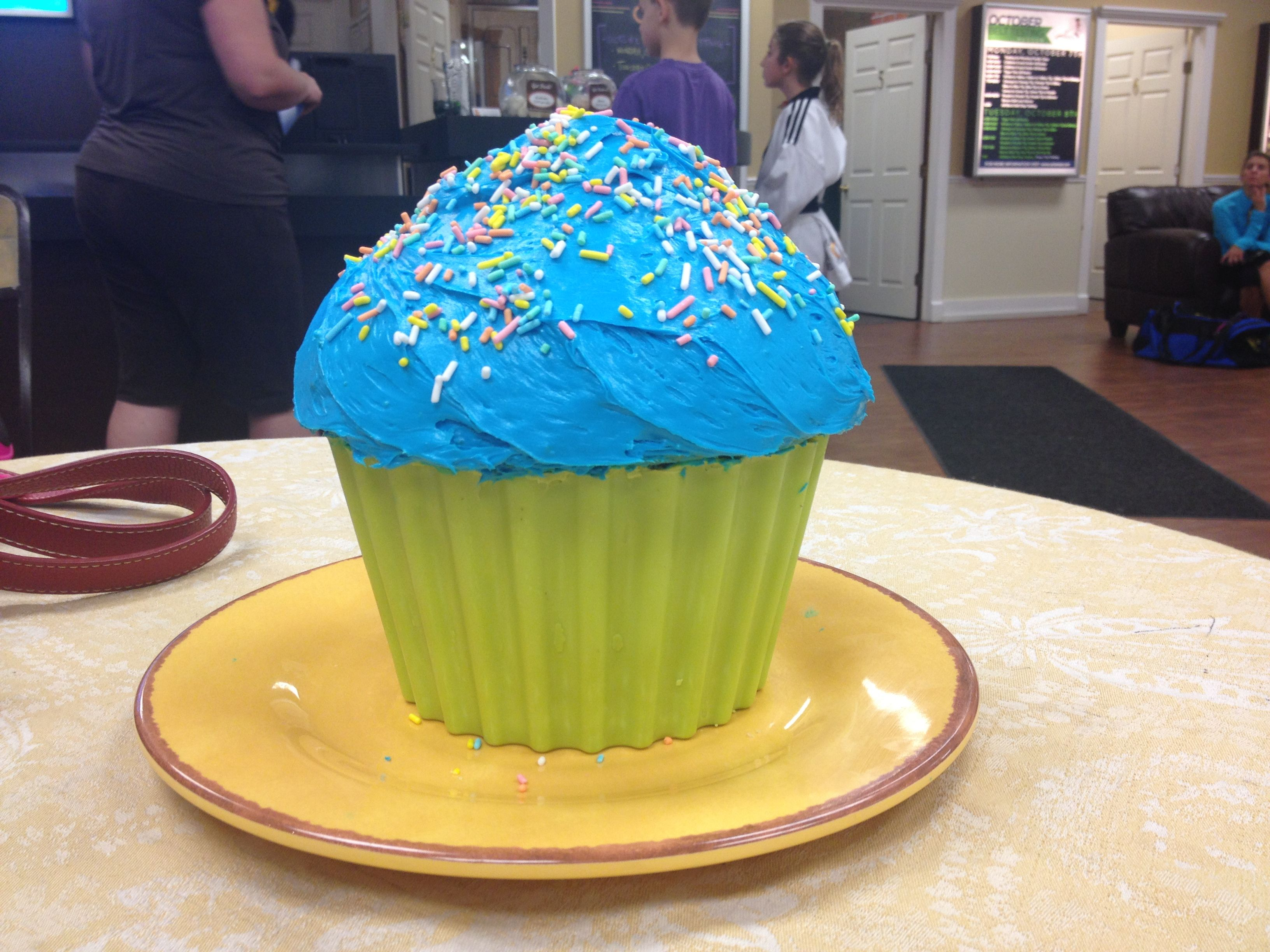 Giant Cupcake in a candy liner