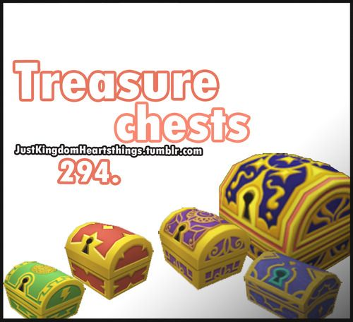 Treasure Chests Kingdom Hearts Kingdom Geek Stuff