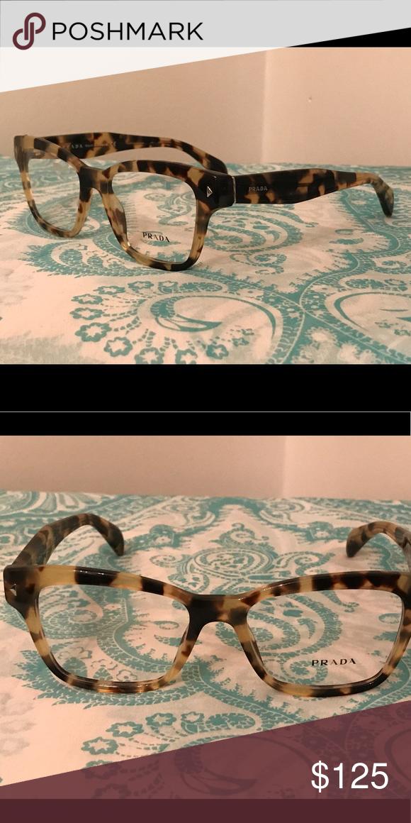 e3484fe40c97 Prada Eyeglass Frames (New) Medium Havana Prada Accessories Glasses ...