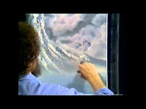 The Joy of Painting S1E04 Winter Mist - YouTube
