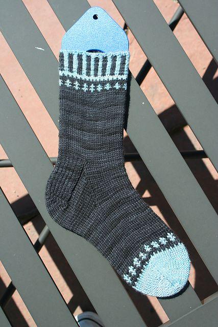 Self Important Socks pattern by Deborah Kemball | Socks ...