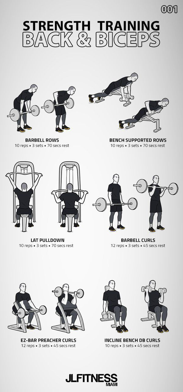 Strength Training 001- Back & Biceps | JLFITNESSMIAMI