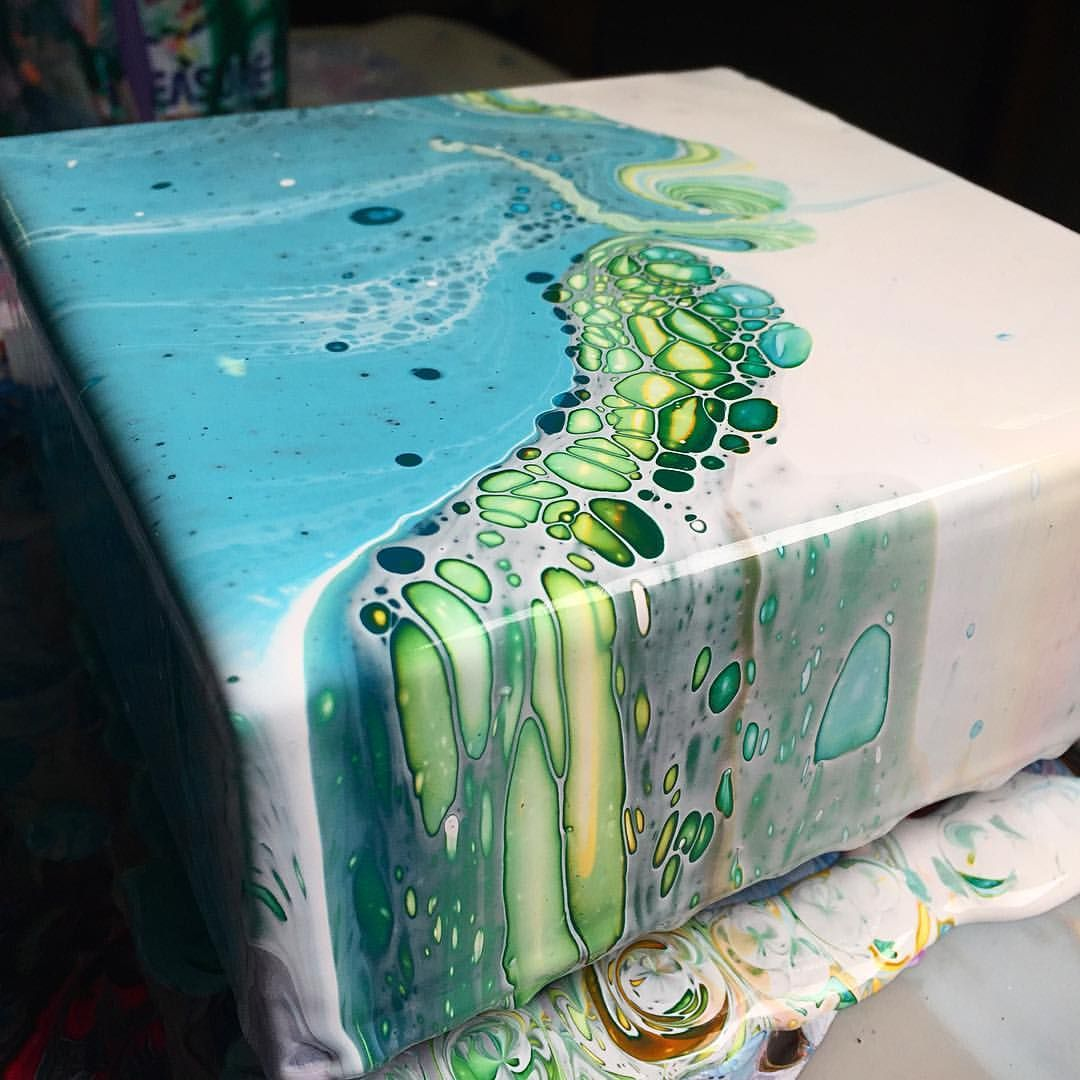 Pin By O K On Gift In 2019 Acrylic Pouring Art Acrylic
