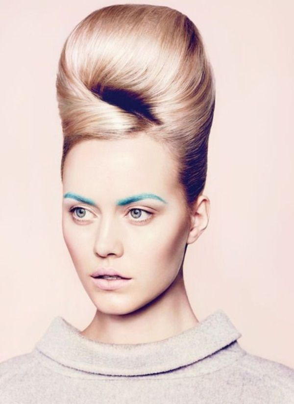 85 Stunning Bouffant Updo Hairstyles For This Christmas Pinterest