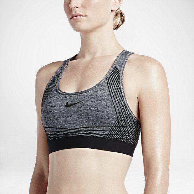 8fd61f43 Спортивное бра Nike Pro Hyper Classic Padded   Что надеть   Women's ...