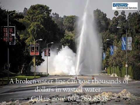 A Brokenwaterline Can Cost Thousands Of Dollars In Wasted Water