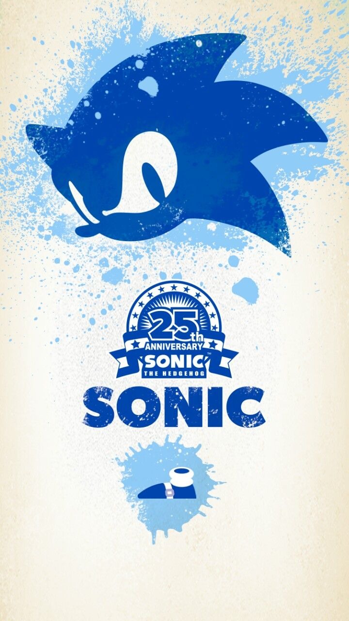 Some Sonic Mobile Wallpapers For 25th Anniversary Imgur Sonic Sonic The Hedgehog Sonic 25th Anniversary