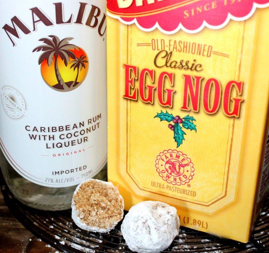 ~Eggnog Rum Balls! In 2019
