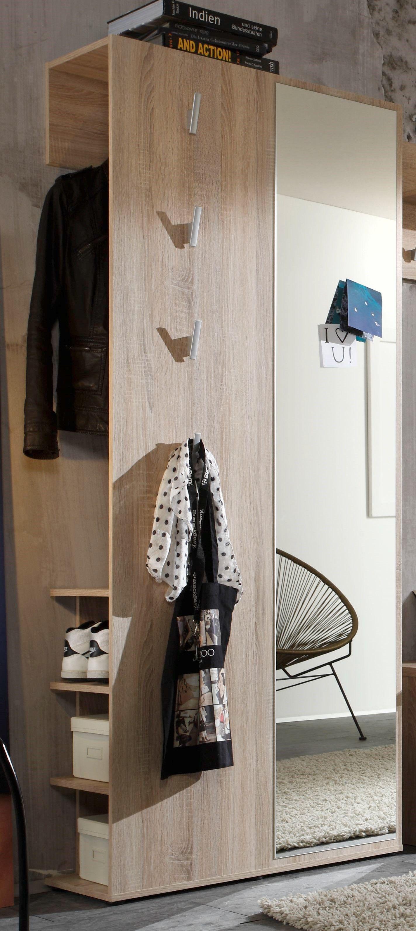 Garderobe Eiche Sagerau Woody 91 00311 B 80 192 31 Cm In De