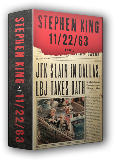 On November 22, 1963, three shots rang out in Dallas, President Kennedy died, and the world changed.  What if you could change it back?