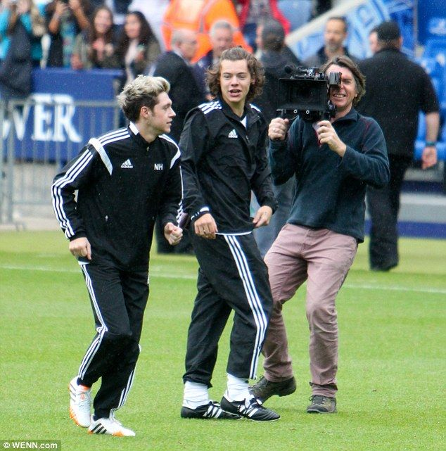 Raising awareness: Harry was asked to play by band mate Niall Horan (left) for Irish Autis...