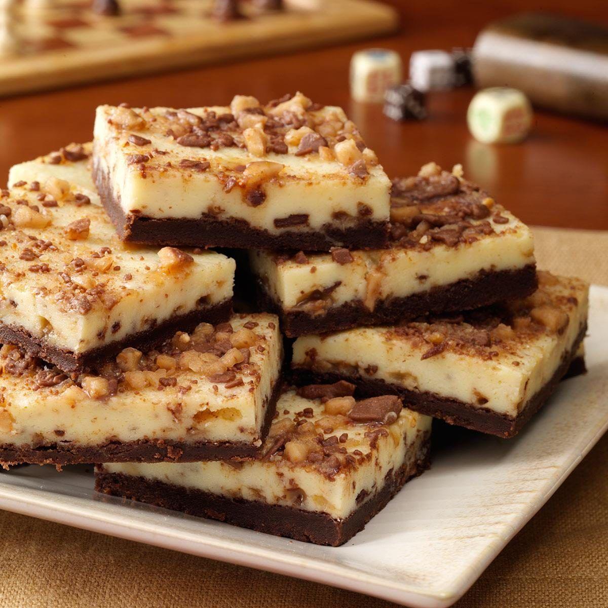 Photo of Toffee Cheesecake Bars