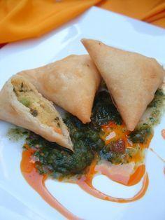 Faire Ma Cuisine recette de samosas indiens végétariens en vidéo bonjour et bienvenue