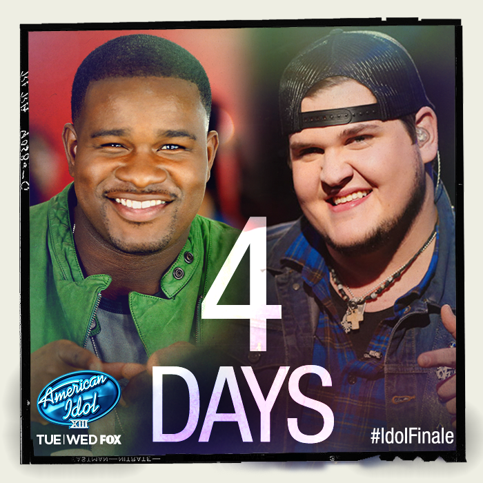 Only 4 DAYS until the Idol Finale! Get all the latest info here: www.americanidol.com