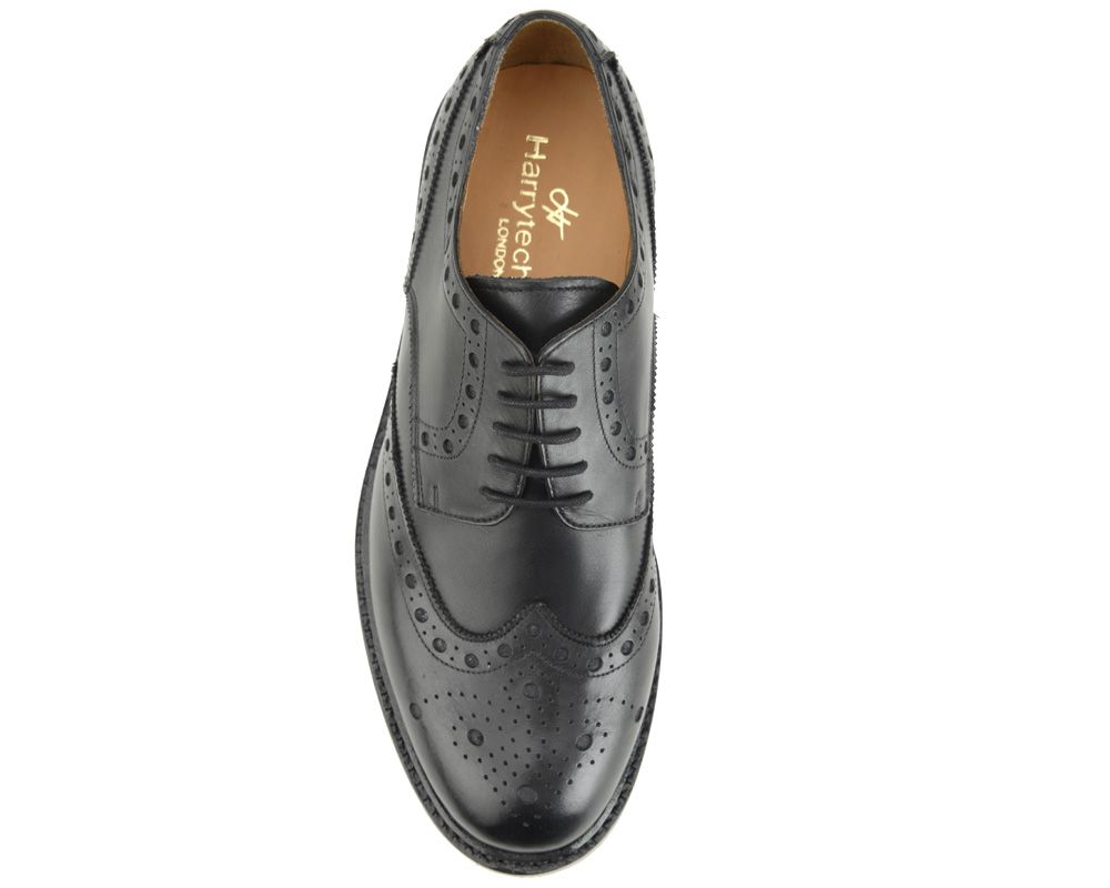 HT 7018 (CIRRUS BROGUE) BLACK