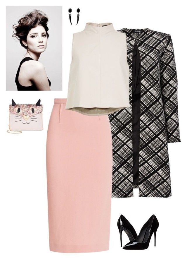 """""""Day 77"""" by alexosterberg ❤ liked on Polyvore featuring Ellen Tracy, Roland Mouret, TIBI, Angelo, Betsey Johnson and Dolce&Gabbana"""
