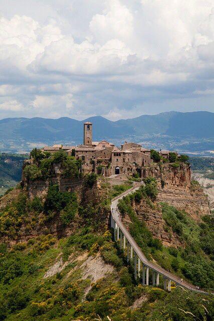Civita Di Bagnoregio Italy Toscane Italie Italie Vakanties