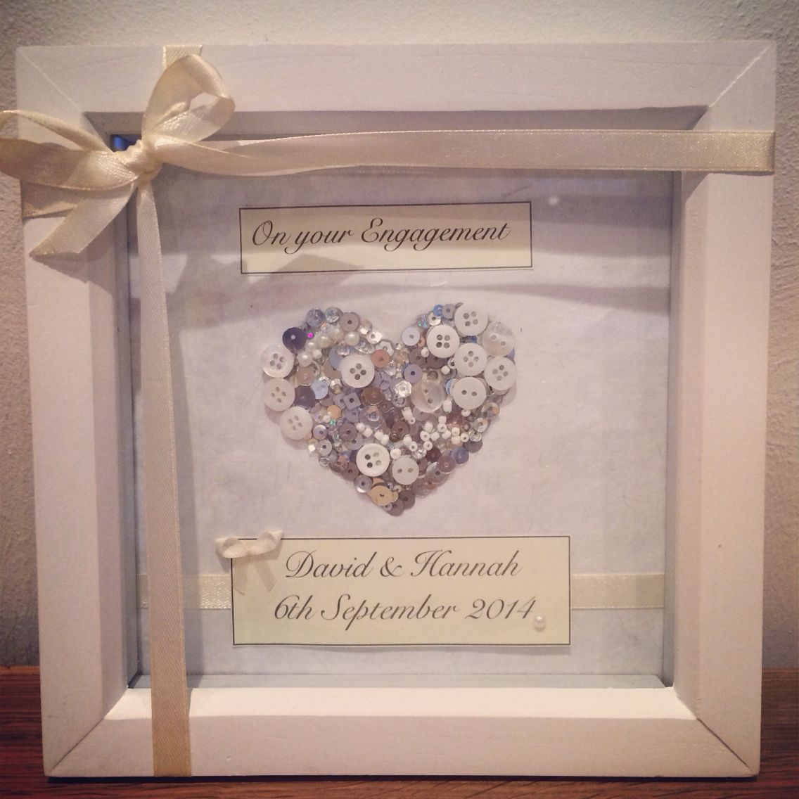 Engagement personalised frame | Personalised Frames Facebook page ...