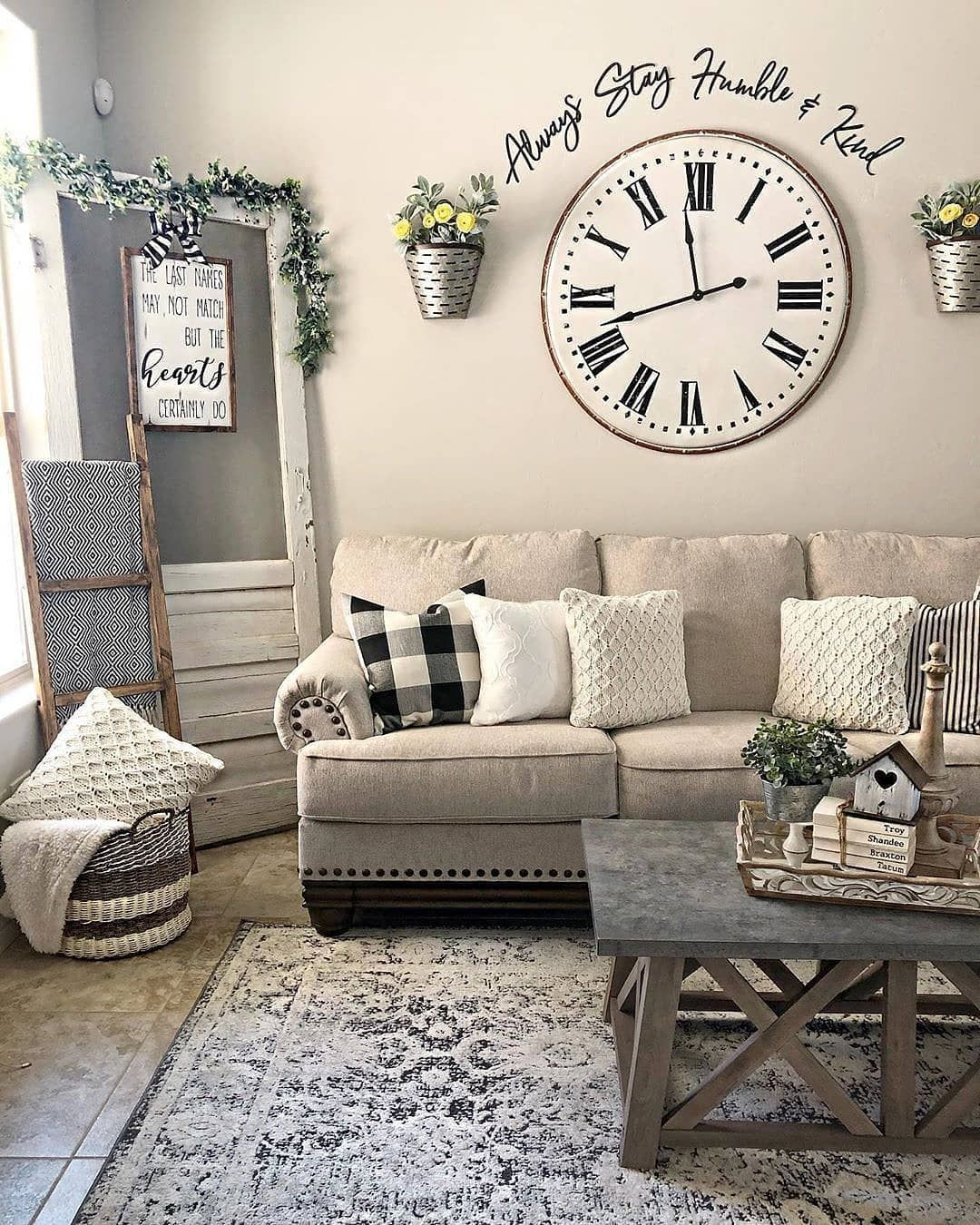 49 Charming Modern Farmhouse Style Living Room Decor Ideas Farmhouse Decor Living Room Farmhouse Style Living Room Farmhouse Style Living Room Decor