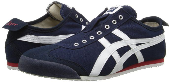 5a77663a05414 Amazon.com  Onitsuka Tiger Mexico 66 Slip-On Classic Running Sneaker  Shoes