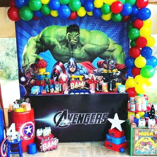 16 Ideas De Fiesta De Los Avengers Fiesta De Los Avengers Fiesta De Cumpleaños Del Súperhéroe Cumpleaños De Super Heroes