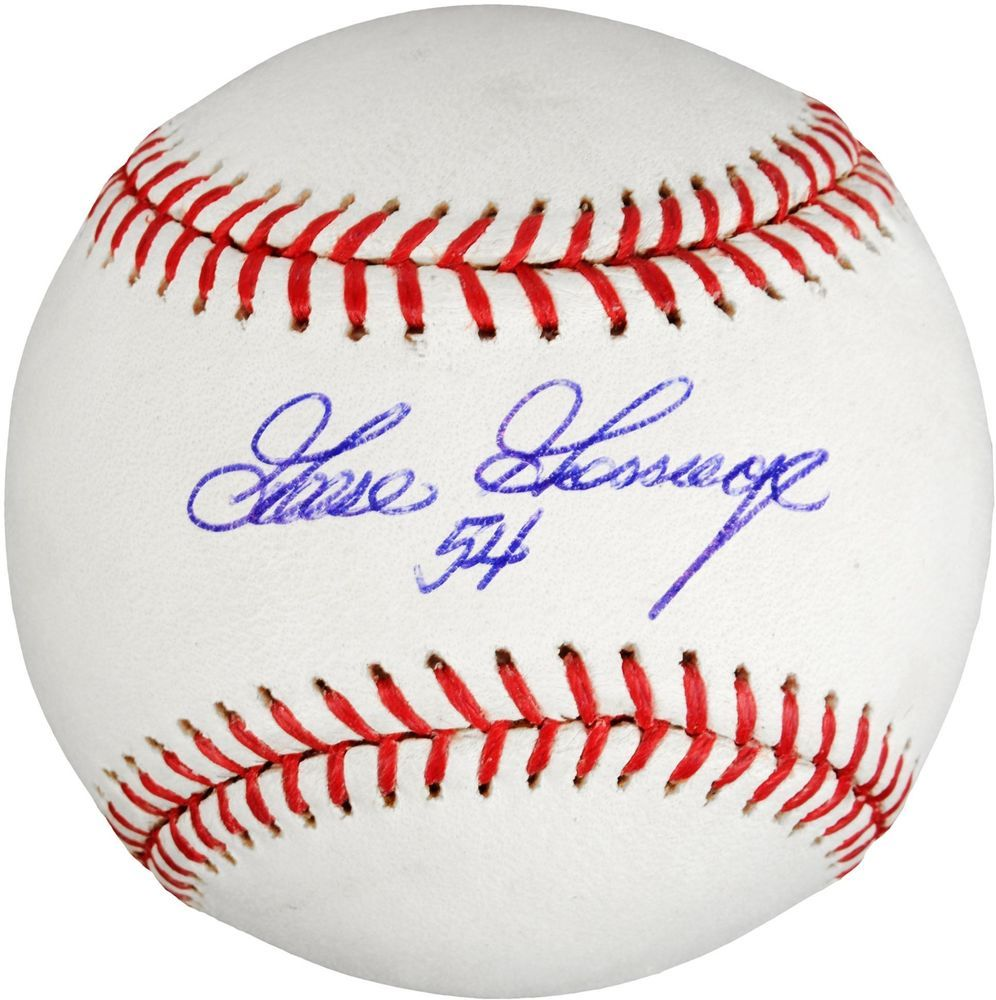 Baseball-mlb Balls Official Website Rich Goose Gossage Yankees Autographed Oal Jsa Hof Insc Rich And Magnificent