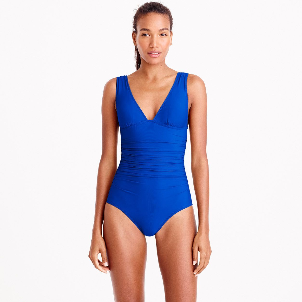 NEW WOMEN'S ALL Sizes J Crew Ruched Halter One Piece