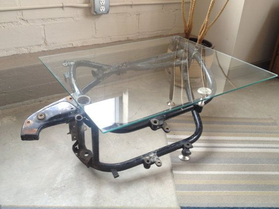 bmw motorcycle frame table on etsy, $600.00 | motorcycle parts