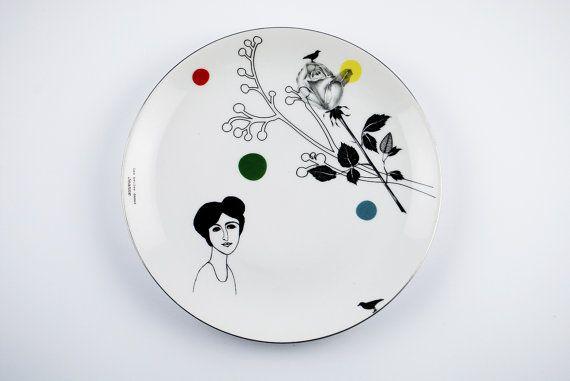 Confetti plate Jeanne #1441