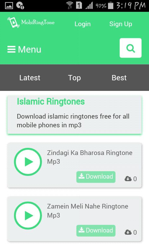 islamic alarm tone download mp3