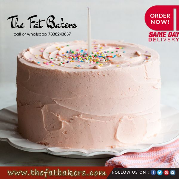 The Fat Bakers Offer Online Delivery Of Fresh And Delicious Cakes In Delhi With Same