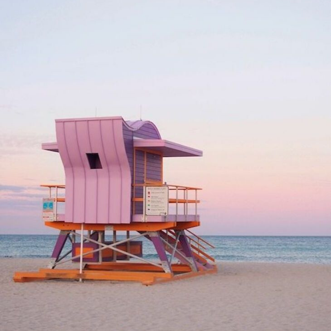 Pastel Inspiration in 2020 Beach aesthetic, Miami beach