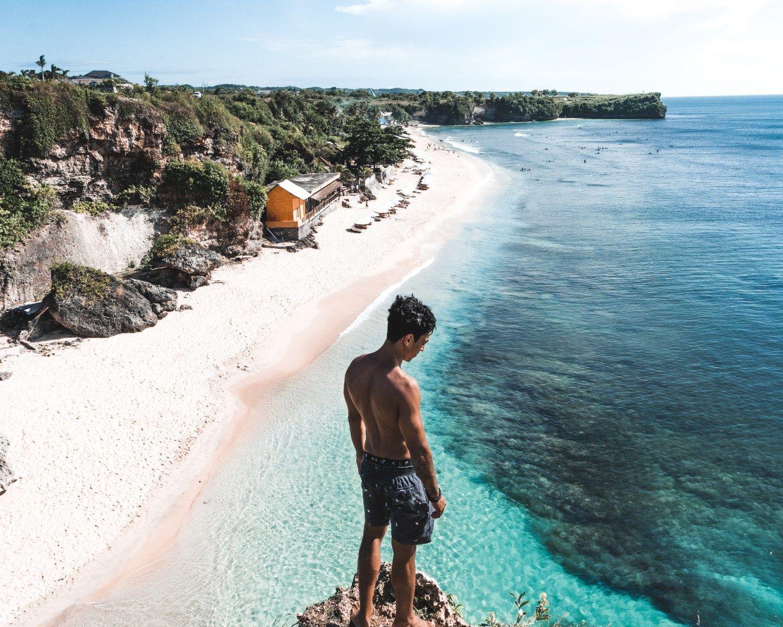 Balangan Beach Bali An Beach Viewpoint