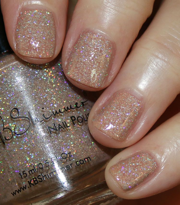 KBShimmer A Hint Of Manila/ A Hint Of Manila is a light tan/beige ...
