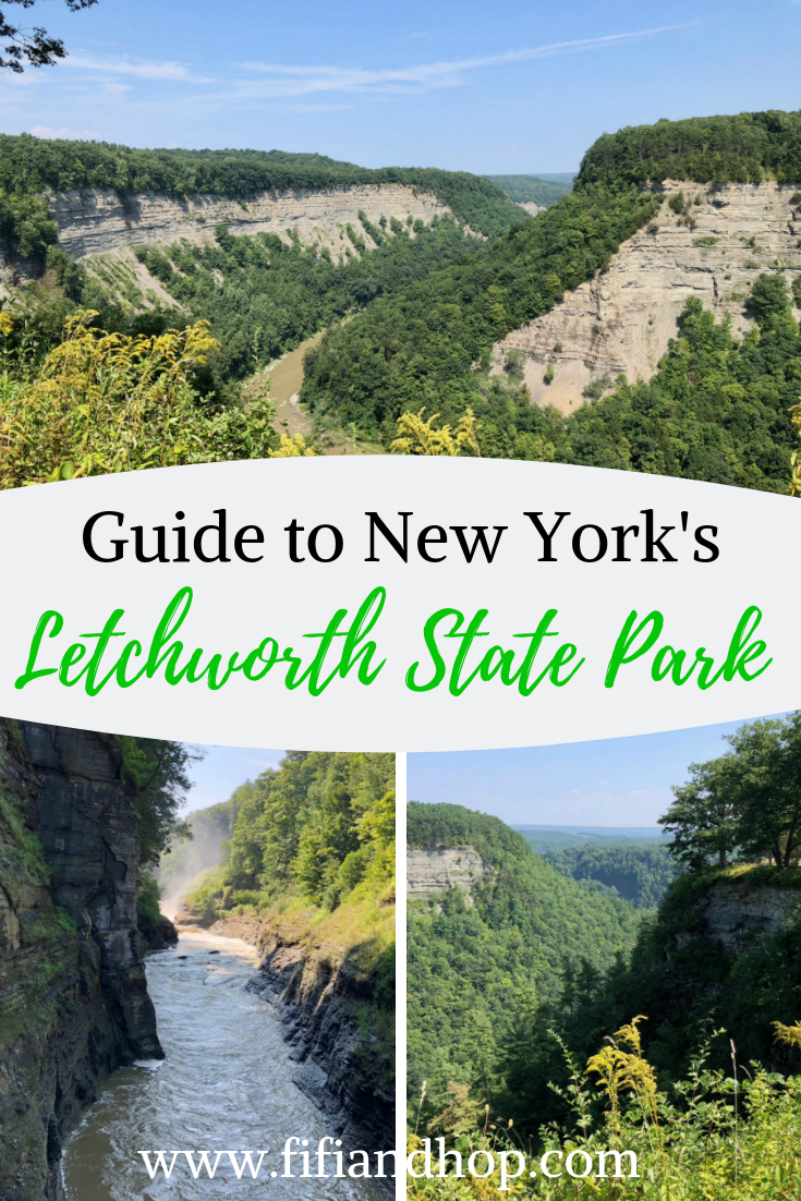 Guide to New York's Letchworth State Park #letchworthstatepark